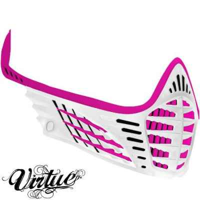 Virtue VIO facemask / mask frame (rosa / blanco) | Paintball Sports