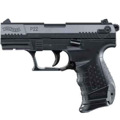 Pistola Walther P22 Airsoft (negra) | Paintball Sports