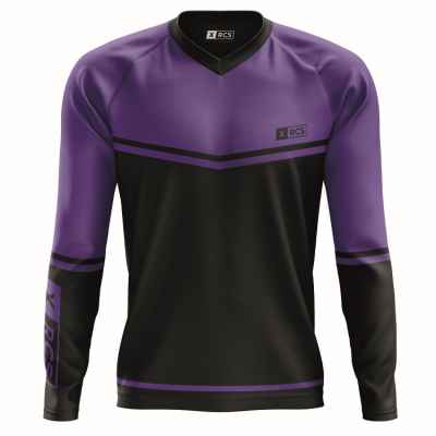 XRCS Paintball Tournament Jersey (negro / morado) | Paintball Sports