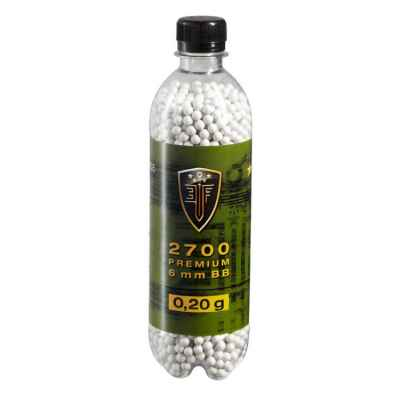 Elite Force Premium Airsoft BB's en la botella (2700 piezas) 0,20g | Paintball Sports
