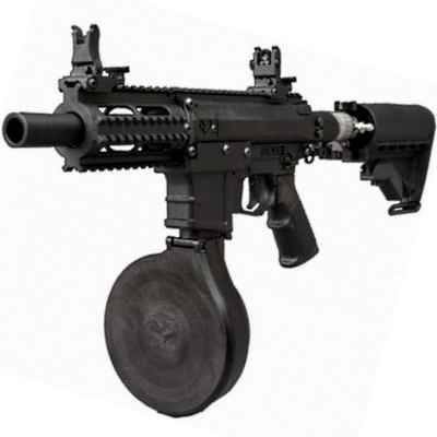 Subfusil Milsig M17 PMC paintball (negro) - TEMPEST   Paintball Sports