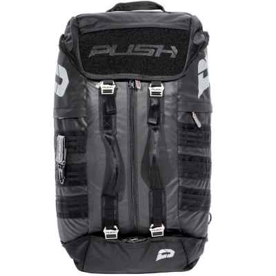 Push Division One Gearbag / Paintball Bag (Negro) | Paintball Sports