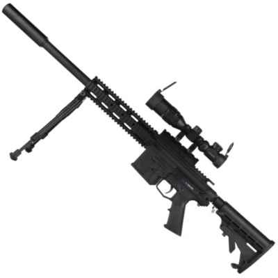 RAP4 468 DMR Bolt Action Paintball Sniper Rifle (para zurdos) | Paintball Sports