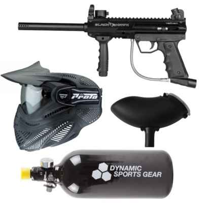 Valken SW-1 Blackhawk paintball paquete económico / paquete de inicio | Paintball Sports