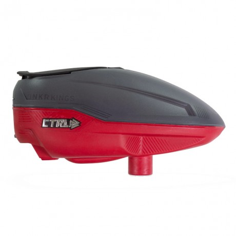 Bunkerkings CTRL Paintball Hopper (rojo grafito) | Paintball Sports