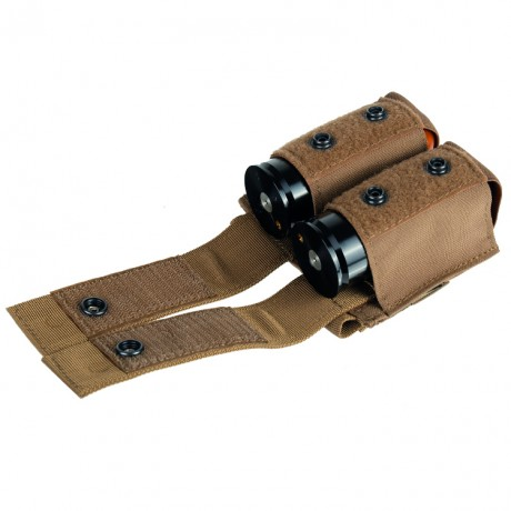 Double Grenade Pouch / Grenade Pouch (set of 2) - tan | Paintball Sports