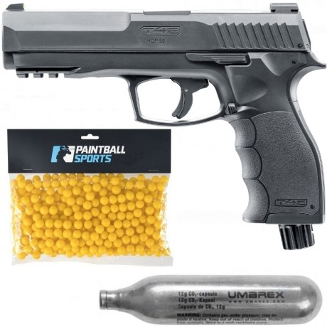 Umarex T4E HDP 50 Paintball Gun Players Pack (negro) | Paintball Sports