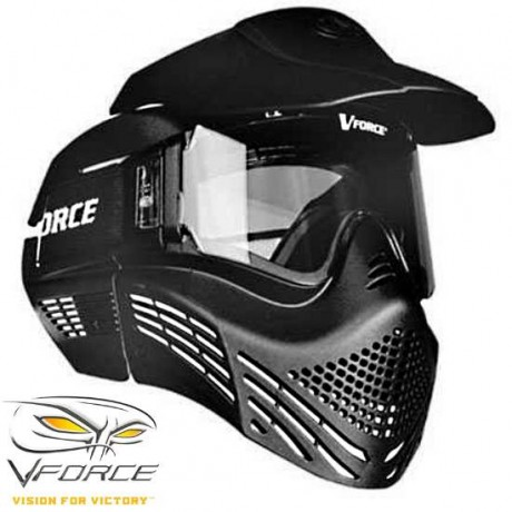 V-Force Armor Rental Paintball Thermal Mask (Negro) | Paintball Sports