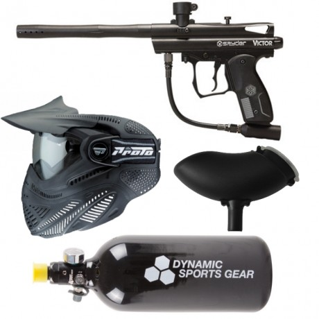 Spyder Victor paintball marcador económico paquete / juego completo | Paintball Sports